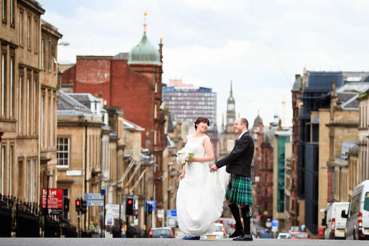 glasgow wedding photos