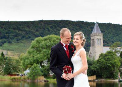 lake of menteith wedding photography
