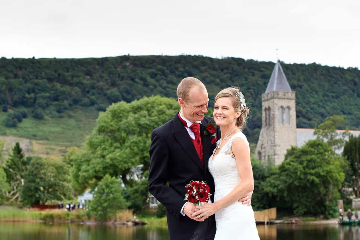lake of menteith wedding photography