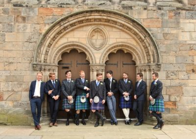 holy trinity st andrews wedding photograph