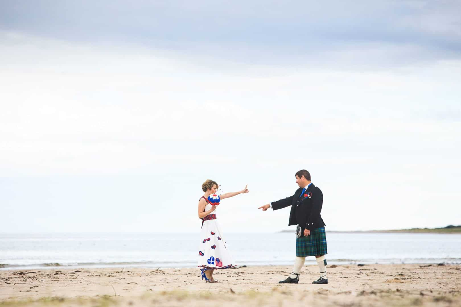 Anna and Michael, Nairn Beach