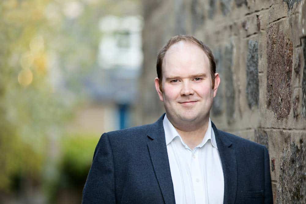 headshot of inverness photographer, roddy mackay