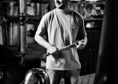 adam hannett of bruichladdich distillery on islay