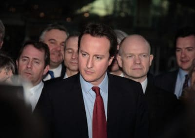 david cameron photographed with his cabinet members in edinburgh while he was the prime minister of the united kingdom by inverness editorial photographer roddy mackay